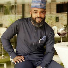 Dark African Attire for Classy Men African Wear Styles For Men, African Dresses Men, African Attire For Men, African Clothing For Men, African Shirts, Nigerian Men Fashion, Indian Men Fashion, Fashion Men, Unique Fashion