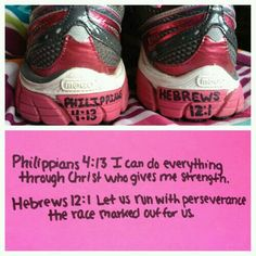 I need this on my running shoes for motivation
