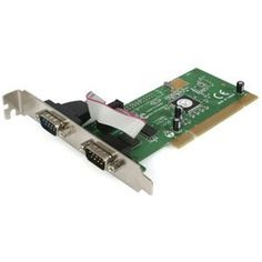 StarTech 2x PCI Serial Adapter Card Dual Voltage. 2PORT DB9 SER PCI RS-232 16950 DUAL PROFILE SERIAL CARD SERCRD. 2 x 9-pin DB-9 Male RS-232 Serial by StarTech. $54.03. Standard Warranty: 2 Year Manufacturer/Supplier: StarTech Manufacturer Part Number: PCI2S950DV Brand Name: StarTech Product Name: 2x PCI Serial Adapter Card Dual Voltage Marketing Information: Add 2 RS-232 serial ports to your PC with this dual voltage universal PCI expansion card. The PCI2S950DV 2 Port Dual Vo...