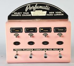 Perfume Dispenser - I remember these in public bathrooms