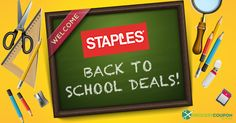 Staples has a HUGE Back to School Sale with lowest prices of the season starting today! Check out this week's deals! Lots of great prices on school supplies! It's never too early to save!