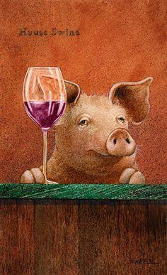 This Little Piggy, Little Pigs, Farm Animals, Cute Animals, Pig Drawing, Pig Art, Flying Pig, Cute Pigs, Animal Paintings