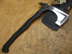 it's called a bearded axe...what's not to love!?!? Type 14 Bearded Axe $600 Man i have a sweet spot for Axes :)