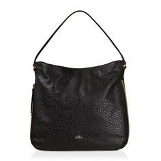 HOGAN Hobo Bag. #hogan #bags #lining #metallic #shoulder bags #suede #hand bags #hobo #