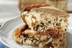 Κολοκυθόπιτα με μυρωδικά Calzone, Yams, Apple Pie, Sandwiches, Pumpkin, Favorite Recipes, Desserts, Food, Pizza