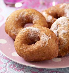Beignets de carnaval (Mardi-Gras) - les meilleures recettes de cuisine d'Ôdélices