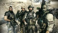 Call of Duty: Modern warfare (Soap) MacTavish, Captain Price, Sandman and Ghost. Infinity Ward, Call Of Duty Zombies, Delta Force, Ol Days, Modern Warfare, Black Ops, Special Forces, Short Film, Cool Pictures