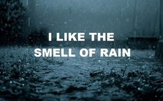 Funny pictures about I like the smell of rain. Oh, and cool pics about I like the smell of rain. Also, I like the smell of rain. I Love Rain, No Rain, Rain Storm, Words Quotes, Me Quotes, Rain Quotes, Random Quotes, Quotable Quotes, Hello Quotes