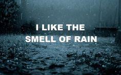 rain and thunderstorms! mmmm