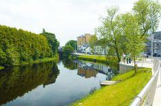 Erne River walk, Enniskillen, County Fermanagh.