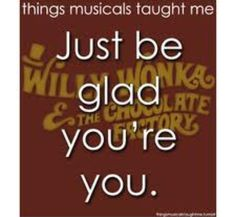 What Musicals Have Taught Me.