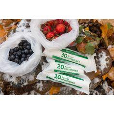 Plastikfri affaldsposer fra Maistic 30 L - 10 stk