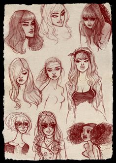 """Doodle Face Dump"" by Babs Tarr"