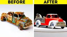 Cool Inventions, Mini Things, Old Toys, 5 Minute Crafts, Vintage Toys, Life Hacks, Diy And Crafts, Restoration, Car