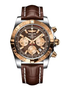 #Breitling #Chronomat Stainless Steel & Gold #Watch