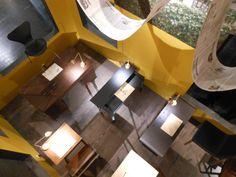 #IMM2015 #dashaus #Neri&Hu buereaulamp in brass van wastberg voor Eikelenboom