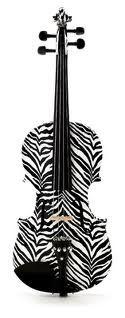 Zebra print: awesome! Violins: awesome!  PUT EM TOGETHER.....  AMAZING