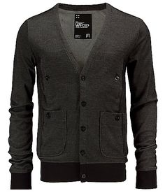WT 02 Two Tone Cardigan Sweater  one of the few cardigans that i like, just seems more masculate!