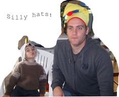 Happy Whimsical Hearts: Happy Family Times #9 ~ silly hat tea party