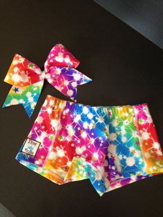 Cheer Bow & Matching Spankies on Etsy, $28.50