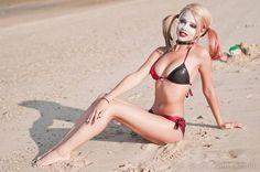 Bikini Harley Quinn And Mistah J Go To The Beach
