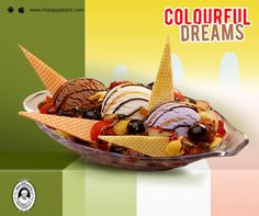 Have a colourful day with these colourful ice cream at THALAPPAKATTI RESTAURANT  #DindigulThalappakatti #Thalappkatti #ThalappakattiRestaurant #Food #Foodie #Biryani #Icecream