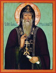 St. Varlaam Khutinsky Russian Orthodox icon