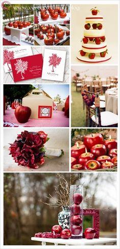 Autumn flowers autumn wedding autumn wedding decoration autumn apple decorations apples on wedding cake with apples decoration with apples decoration junglespirit Image collections
