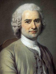 Maurice Quentin de la Tour, Rousseau