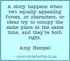 Quotable - Amy Hempel - Writers Write Creative Blog
