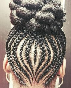 . African Braids Hairstyles, Cute Hairstyles, Braided Hairstyles, Pressed Natural Hair, Little Girl Braids, Ghana Braids, Braided Ponytail, Crochet Braids, Hair And Nails