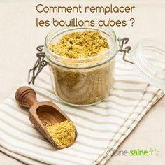 Je vous avais déjà proposé une recette de bouillon déshydraté sans sel à base de résidus de fibre de l'extracteur de jus. Aujourd'hui je reviens sur l'épineuse question des bouillons cubes avec une nouvelle recette à base de légumes entiers. Je vous propose de remplacer les bouillons cubes industriels par votre propre poudre maison. Vous …