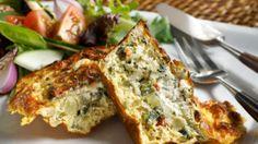 Quiche met spinazie en chorizo | VTM Koken