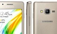 Samsung Z2 goes official with quad-core CPU 3.97-inch display