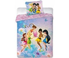 Disney Fairies Tinkerbell Dekbedovertrek Fairies 140x200cm
