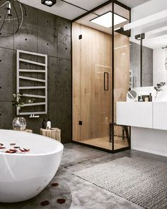 Новости bathroom/ванна cuarto de baño, lofts modernos и baños modernos. Industrial Bathroom Design, Industrial Interior Design, Industrial Interiors, Modern Bathroom Design, Bathroom Interior Design, Industrial Loft, Vintage Industrial, Industrial Lighting, Bathroom Designs