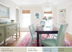 Shop our dining room (and learn all of our paint colors)