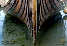 keel of Viking ship