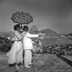 Foto de Jean Manzon. Rio de Janeiro em 1950