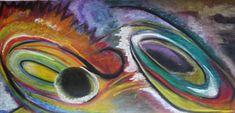 Vortex x 2 Palette, Display, Watercolor, Paper, Painting, Arches Watercolor Paper, Pastel Drawing, Artist, Jamaica