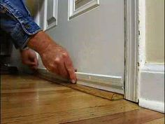 How to Install Weatherstripping on an Entry Door for a Tight Seal • Ron Hazelton Online • DIY Ideas & Projects