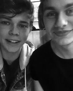 Two beautiful boys, two beautiful smiles that should always stay.