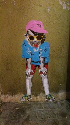 Little boy wall art, Constance