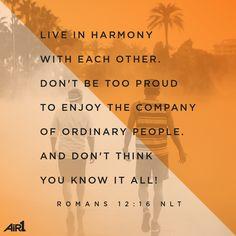 #VOTD #Bible #Friendship #Harmony