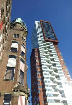 Old and new, Hotel New York Rotterdam