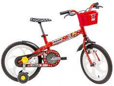 Bicicleta Infantil Caloi Minnie - Aro 16
