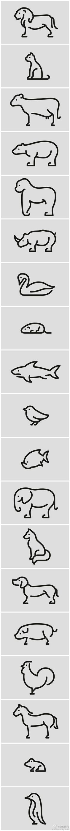the last one is a penguin! <3