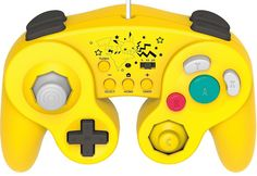 Super Smash Bros. for Wii U fighters planning on leading their offense with Pikachu should take note of Hori's controller inspired by everyone's favorite