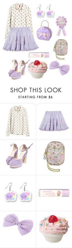 """""""Strawberry Cheesecake❤️"""" by sweetpasteldream ❤ liked on Polyvore featuring H&M and Paperchase"""