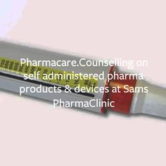 Counselling on self administered pharma products and devices at Sams e-p...